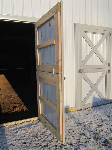 Sliding Pole Barn Door Plans