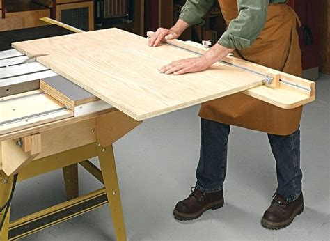 Sliding Table Saw Attachment DIY