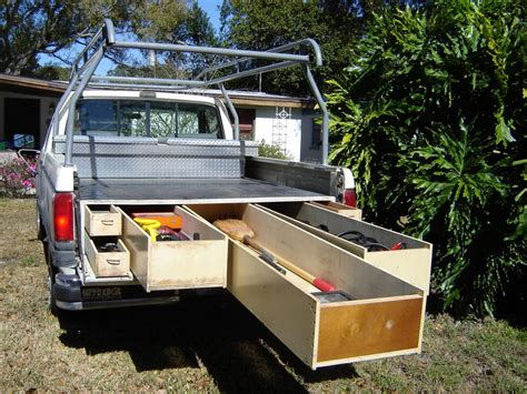 Sliding Truck Bed Drawer