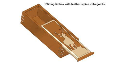 Sliding-Lid-Box-Plans