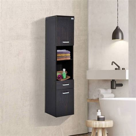 Slim Narrow Wall Cabinet For Bathroom