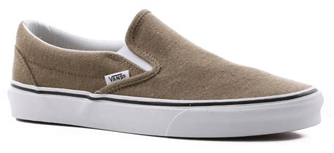 Slip On Vans Cotton White Sneakers