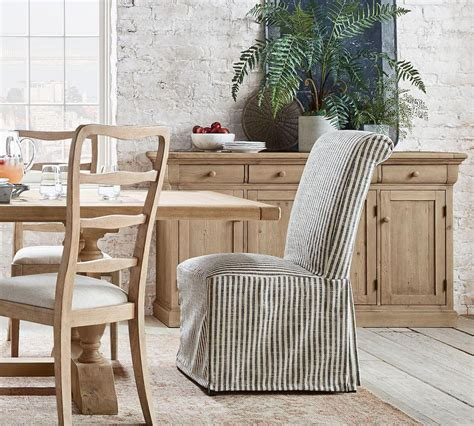 Slipcovered Dining Chairs Pottery Barn