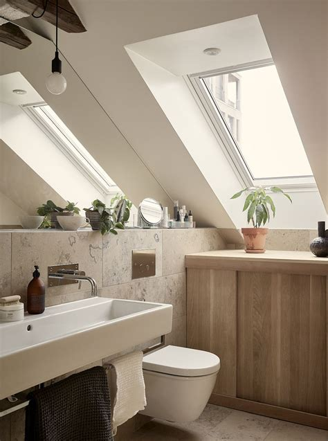 Sloped Ceiling Bathroom Cabinets