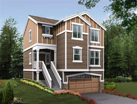 Small 2 Story House Plans With Garage