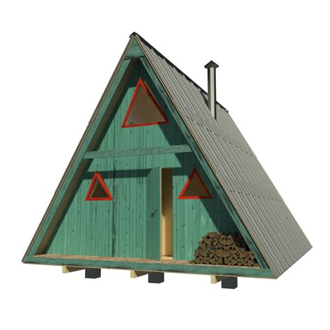 Small A Frame Cabin Plans Free