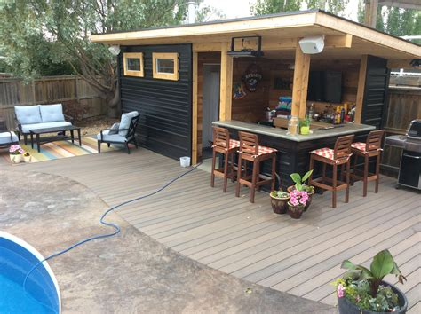Small Bar Shed Plans