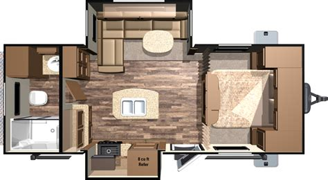 Small Bunkhouse Travel Trailer Floor Plans
