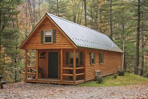Small Cabin Plans With Porches