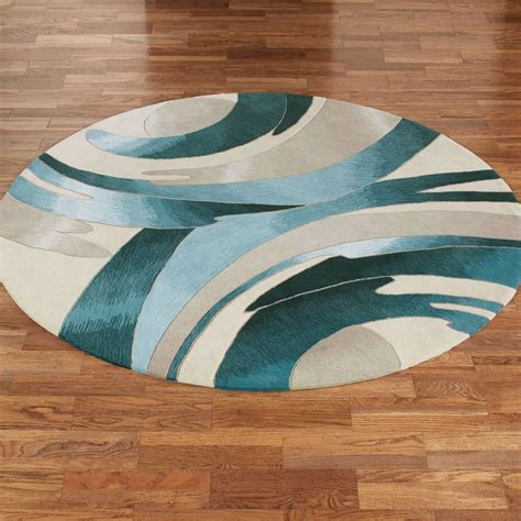 Small Cheap Round Rugs
