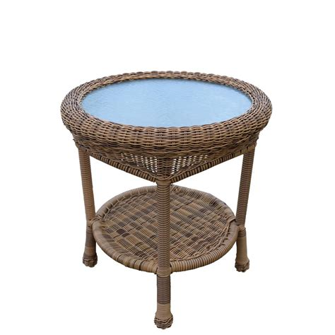Small Circle Wicker Table Diy Hardware