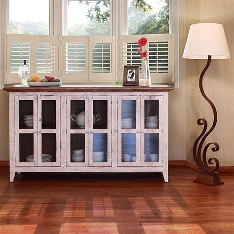 Small Console Table With Glass Doors