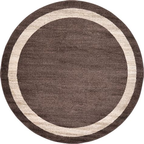 Small Contemporary Round Rugs