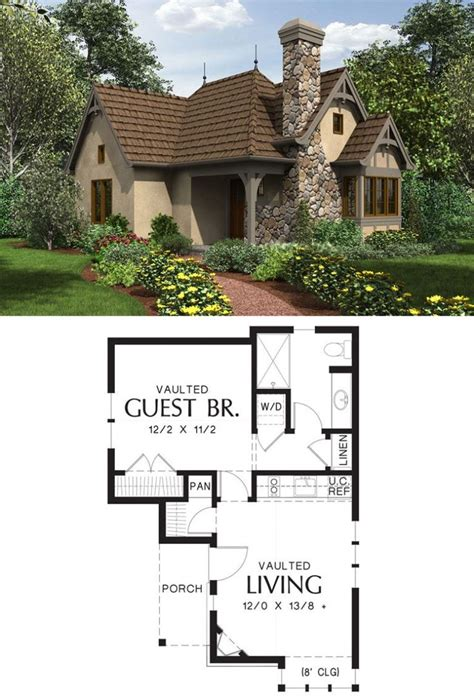 Small Cottage Floor Plans Free