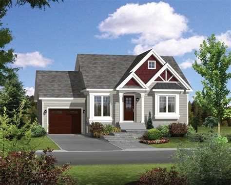 Small Cottage House Plans With Attached Garage
