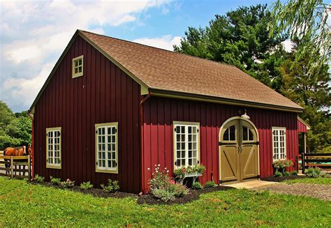 Small Country Barn Plans