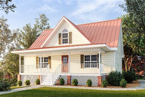Small Country Cabin Plans With Garage