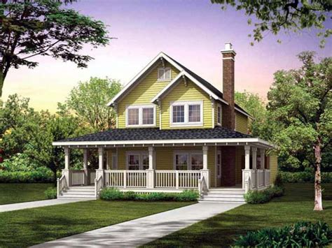 Small Country Farmhouse House Plans