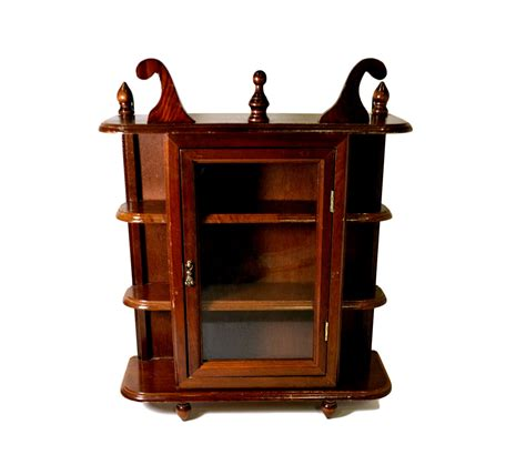 Small Curio Cabinet With Glass Doors