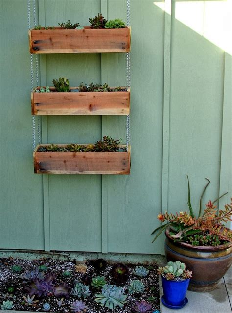 Small Diy Pallet Planter Boxes