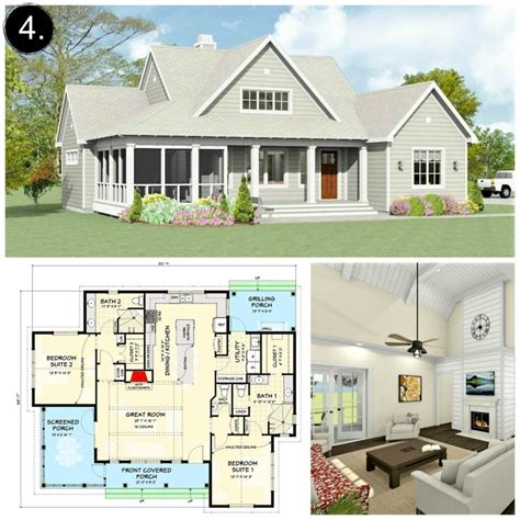 Small Farm House Plans Under 2000 Sq Ft
