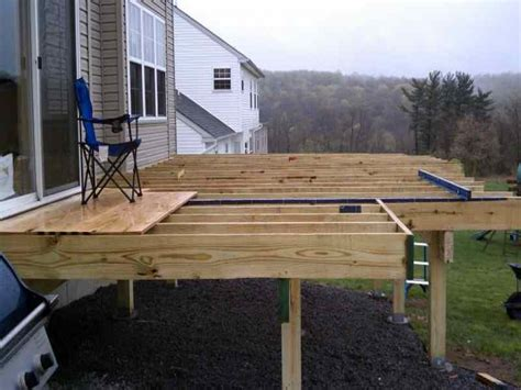 Small Freestanding Deck Plans