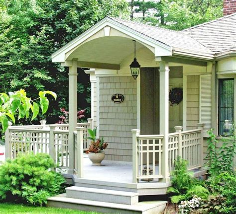 Small Front Porch Plans