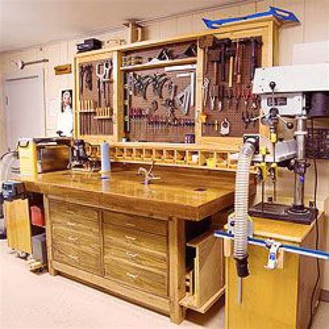 Small Garage Woodshop Plans