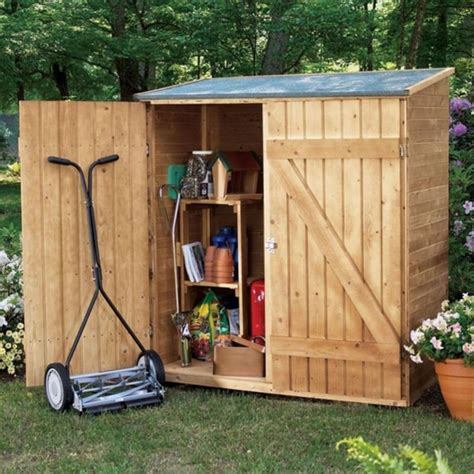 Small Garden Storage Shed Plans