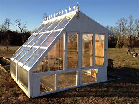 Small Greenhouse Building Plans