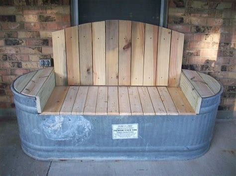 Small Horse Trough Bench Plans