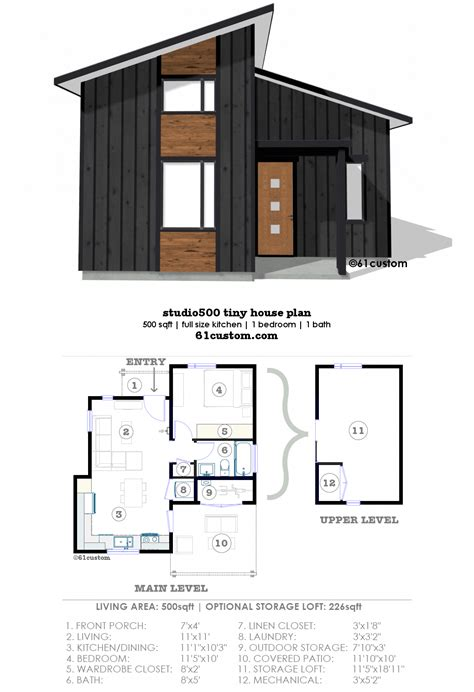 Small Hot House Plans