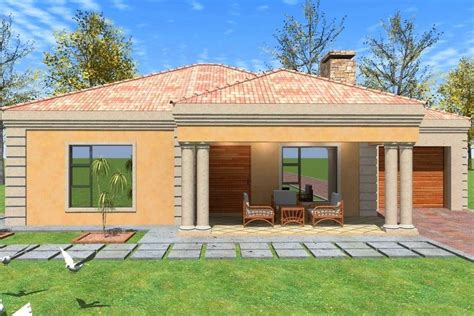 Small House Plans With Garage South Africa