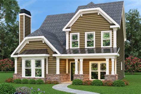 Small House Plans With Rear Entry Garage