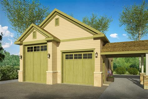 Small House With Rv Garage Plans