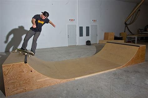 Small Indoor Mini Halfpipe Plans For Bmx