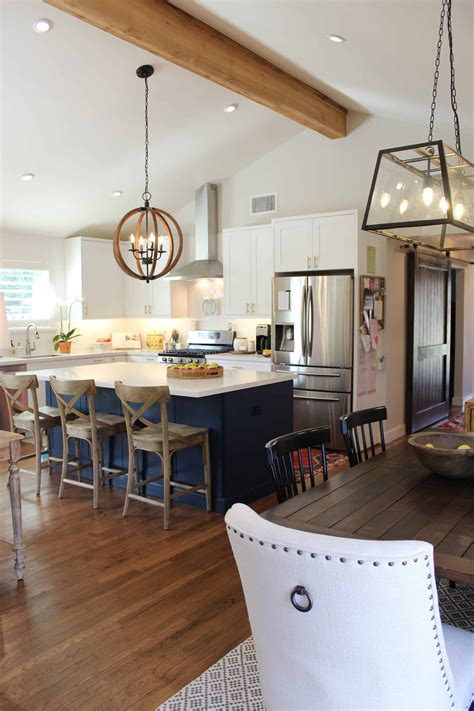Small Kitchen Plans With Vaulted Ceiling