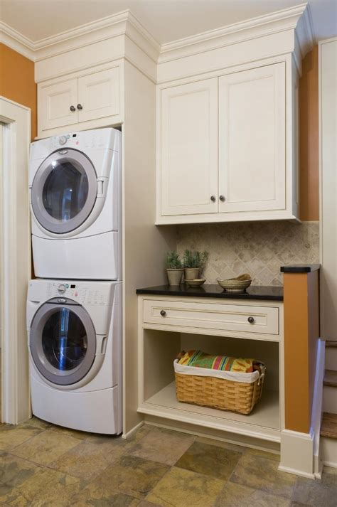 Small Laundry Room Ideas Stackable Washer Dryer