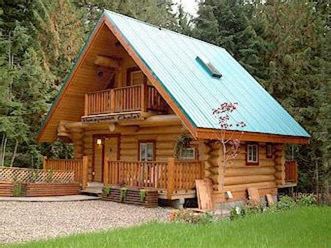 Small Log Cabin Plans To Build