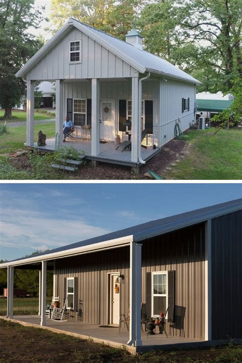 Small Metal Building Home Plans