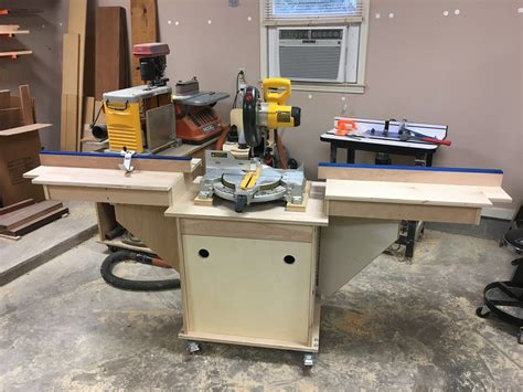 Small Miter Saw Station Plans