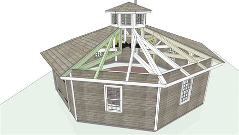Small Octagon Shaped House Plans
