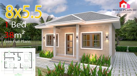 Small One Bedroom House Plans And Bill Of Quantity