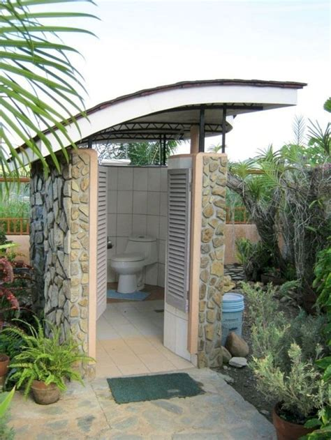 Small Outdoor Bathroom Plans