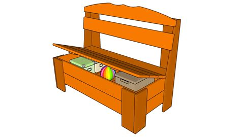 Small Outdoor Storage Bench Plans