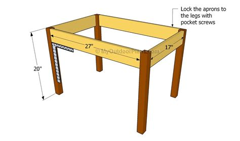 Small Play Table Plans