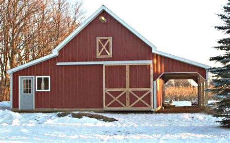 Small Pole Barn Plans For Free