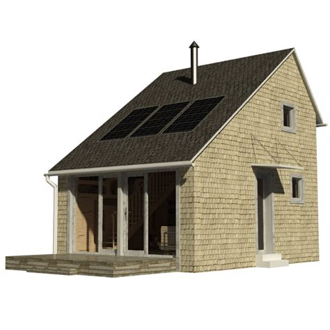 Small Saltbox Plans