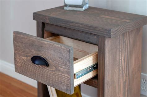 Small Simple Nightstand Plans