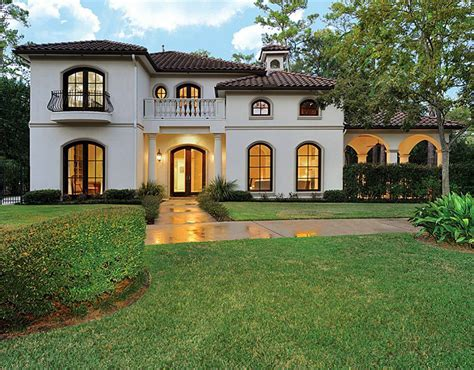 Small Spanish Style Homes Plans